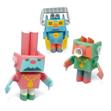 Lyric & Hook & Track PIPEROID are a Japanese paper robot hip-hop trio.
