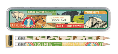 Cavallini & Co. National Parks Pencil Set