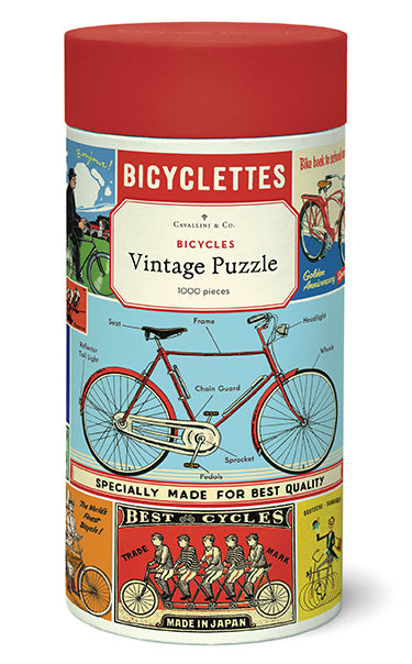 Cavallini & Co. Bicycles 1000 Piece Puzzle