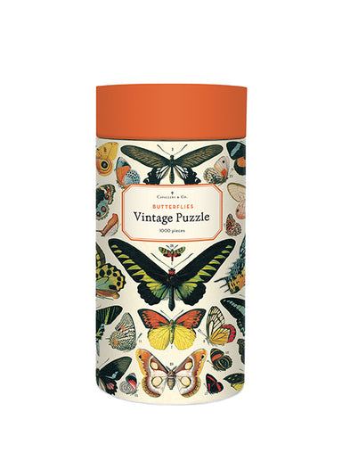 Cavallini & Co's. very popular Butterfly Decorative Paper is now available in puzzle form!