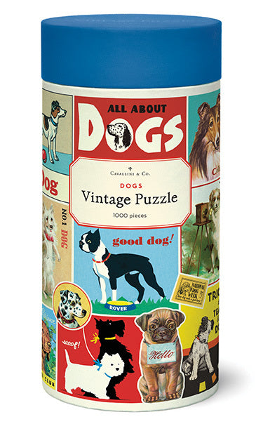 NEW for 2020- Vintage Dogs 1000 Piece Puzzle. A lot of customer have been asking for this one, and now it is here!