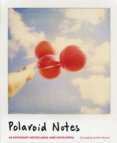"Polaroid Notes features twenty note cards, each with a different Polaroid image. Each and every image evokes that classic ""Polaroid style."""