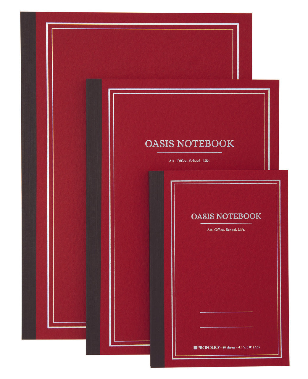 ProFolio Oasis Notebooks are high quality, fountain pen friendly Japanese notebooks.