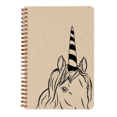 Unicorns! Who doesn't love them! And now you can color your own. This shy creature will remind you of the magic in your life.
