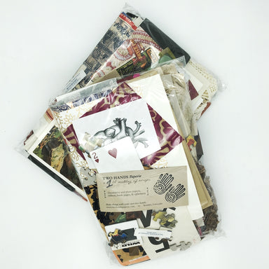 You never know what you might find- paper of course (lokta, unryu, mango, banana, printed papers from Rossi and Cavallini, Japanese and Indian recycled are some you might find), envelopes, cards, photographs, slides, magnets, buttons, bags, ribbon, book cloth, and on and on.