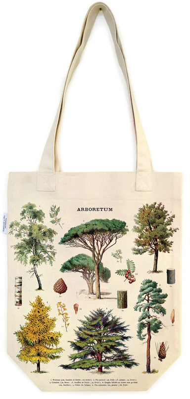 Cavallini & Co. Arboretum Cotton Tote Bag