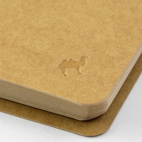 Traveler's Company Spiral Ring Blank Kraft Paper Notebook- Vertical A5 Slim