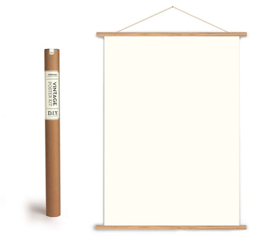 Use this poster kit to hang your favorite vertical Cavallini Paper.