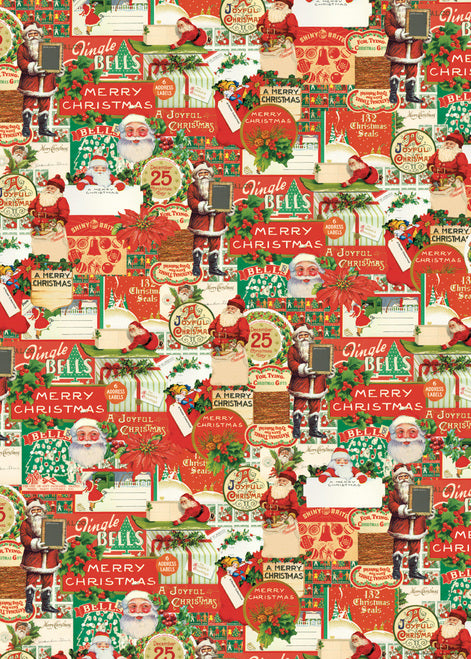 Cavallini & Co. Vintage Christmas Decorative Paper