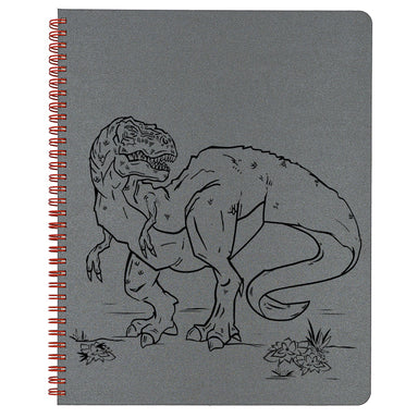Grey T-rex cover.