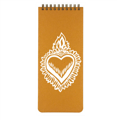 Make My Notebook List Pad- Milagro Flaming Heart