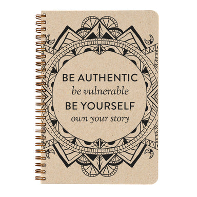 This notebook sparks the inspiration for starting from within and writing your own story- even moreso now that you can color your own cover!