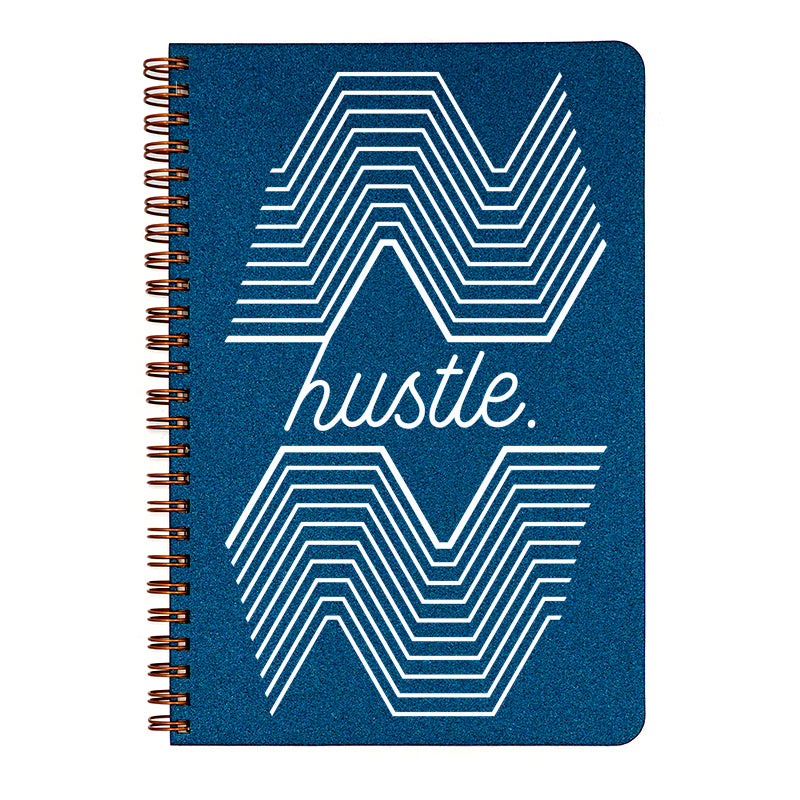 Make My Notebook small Hustle- Get. It. Done. As they say, Hustlers gotta hustle, so show the world that you do it in style!