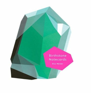 Birthstone Notecard set features 12 note cards and envelopes, one for each month of the year. Choose from garnet, amethyst, diamond, and emerald, to name just a few.