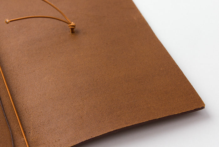 The elastic is easy to replace in your Camel Midori Traveler's Notebook to add color or interest.