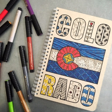 How do you color Colorado?  Have fun with it!