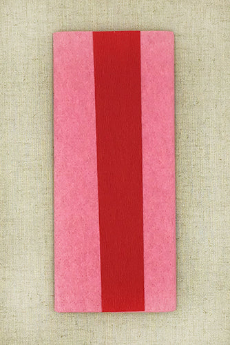 Double Sided Crepe Paper- Dark Rose and Red