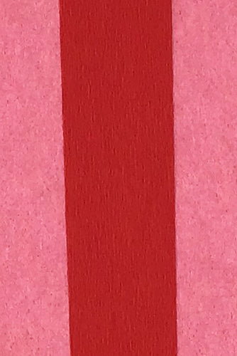 Double Sided Crepe Paper- Dark Rose and Red detail