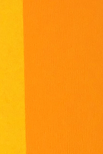 Double Sided Crepe Paper- Yellow and Apricot detail
