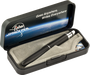 The Fisher Space Pens comes packaged in a decorative box.