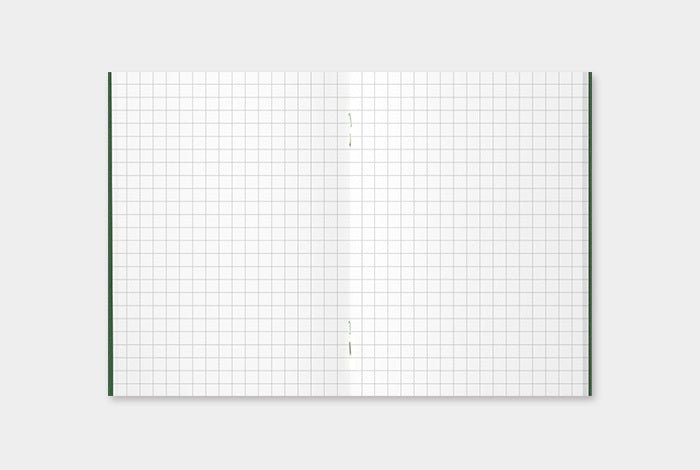 Use the Grid Notebook Refill in your Passport Midori Traveler's Notebook or as a stand alone notebook.