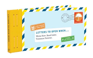 Letters To Open When... A Paper Time Capsule