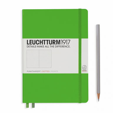 Fresh Green Dotted Leuchtturm 1917 Hardcover Notebook
