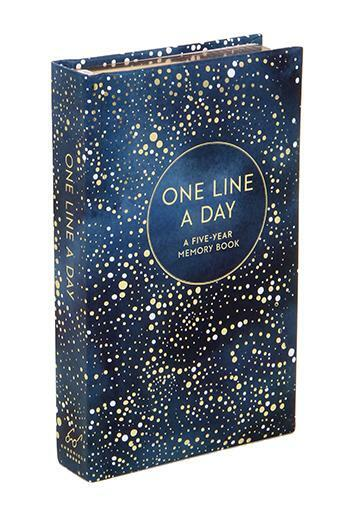 Celestial One Line a Day Guided Journal- five year memory book