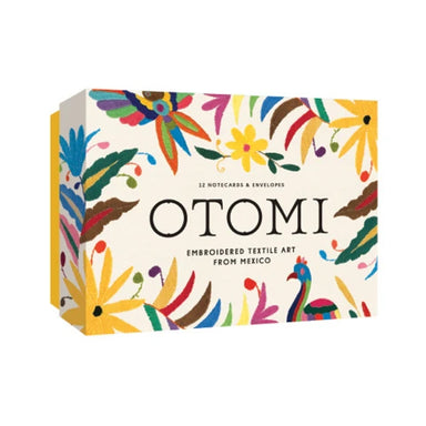 Otomi Notecards features vibrant patterns full of color that leap off the page.