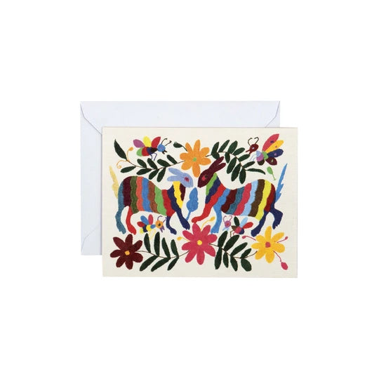 Otomi Notecards includes four stunning designs paired with four different envelopes.
