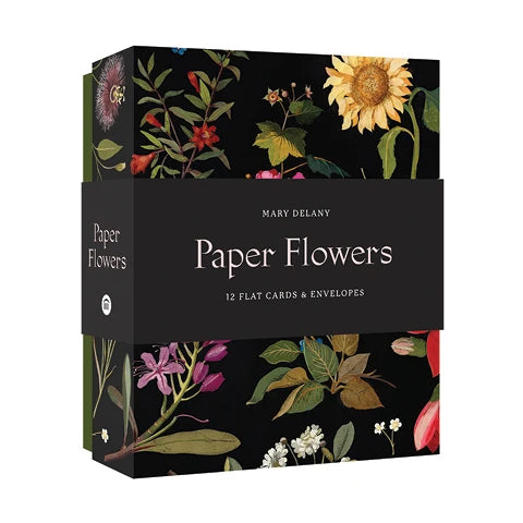 Paper Flowers Notecards and Envelopes Set