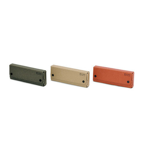 Midori Pulp Storage Pasco Pen Cases are available in three colors.