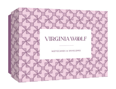 Virginia Woolf Boxed Notecards- featuring Woolf's quotes on patterned cards.