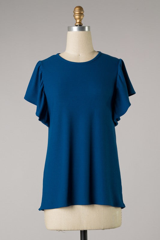 The Willow Top (Blue)