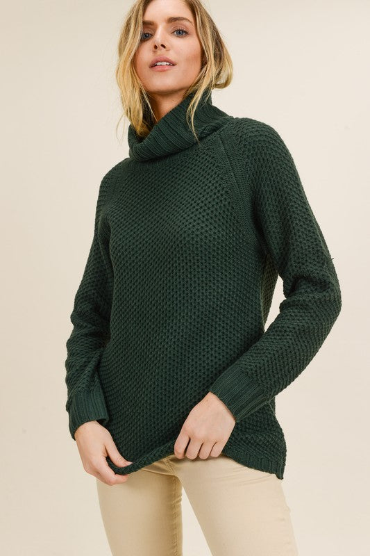 The Anna Top (Hunter Green)
