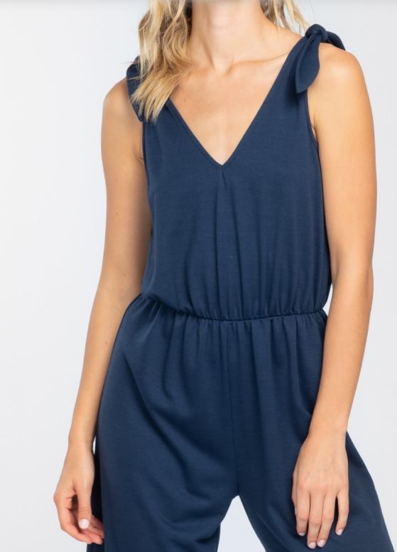 213824fbfd The Phoebe Jumpsuit (Navy) – Hadley Rae Boutique