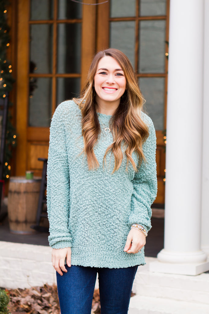 Fireside Sweater (Sage)