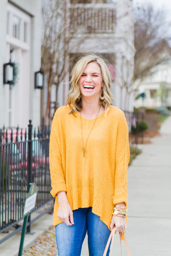 The Ivy Top (Mustard)