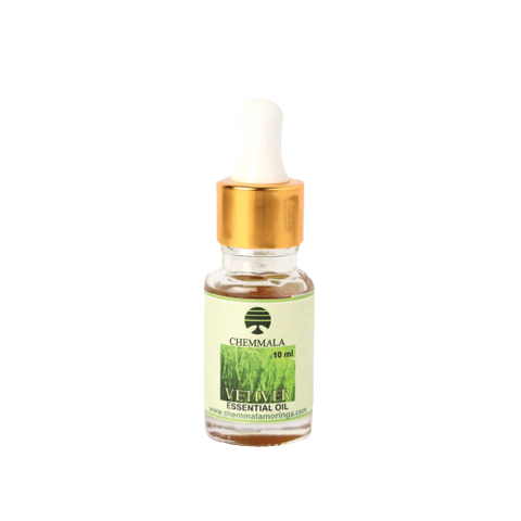 Chemmala Vetiver Essential Oil 10ml, Vetiver Essential Oil For Your Body and Mind - WinKart.co
