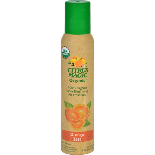 Citrus Magic Air Freshener  Odor Eliminating  Spray  Fresh Orange  3.5 oz