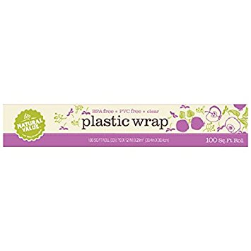 Natural Value Clear Plastic Wrap (24x100 FT)