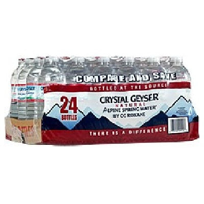 Crystal Geyser Alpine Spring Water (24x500ML )