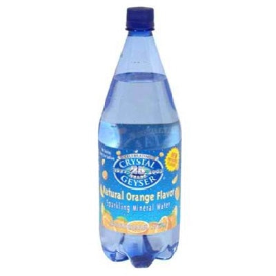 Crystal Geyser Orange Mineral Water (12x42.25OZ )