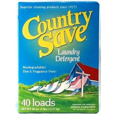 Country Save Laundry Detergent (8x5LB )