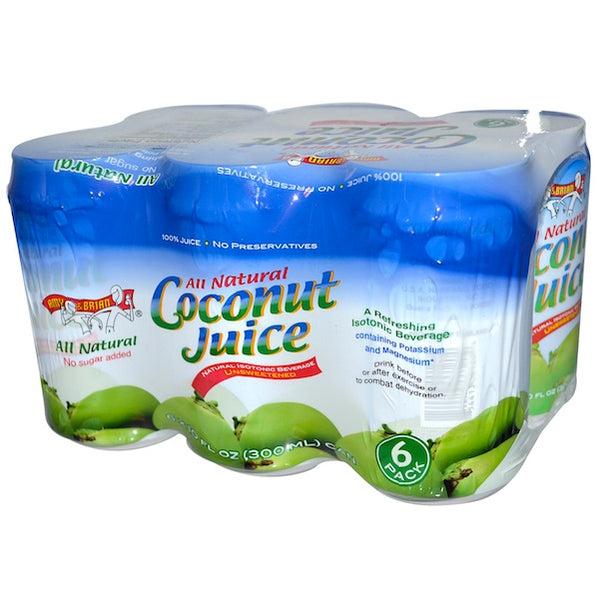 Amy & Brian Coconut Juice (4x6Pack )