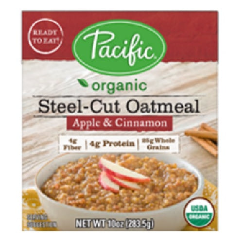 Pacific Natural Foods Oatmeal Apple & Cinnamon (12X10 OZ)