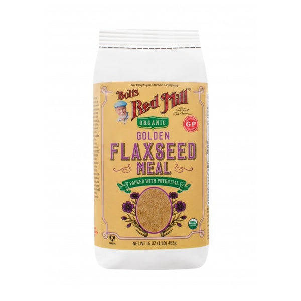 Bob's Red Mill Organic Gluten Free Golden Flaxseed Meal (4x16 OZ)