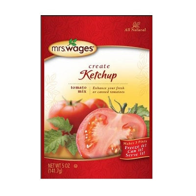 Mrs. Wages Ketchup Tomato Mix (12x5 OZ)