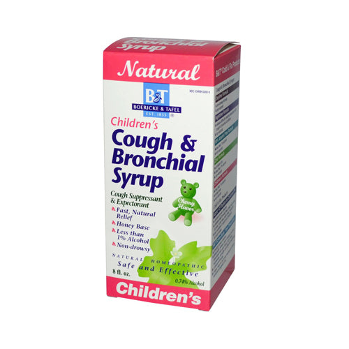 Boericke and Tafel Children's Cough and Bronchial Syrup (8 fl Oz)