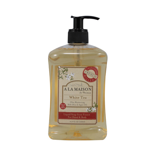 A La Maison French Liquid Soap White Tea (16.9 fl Oz)